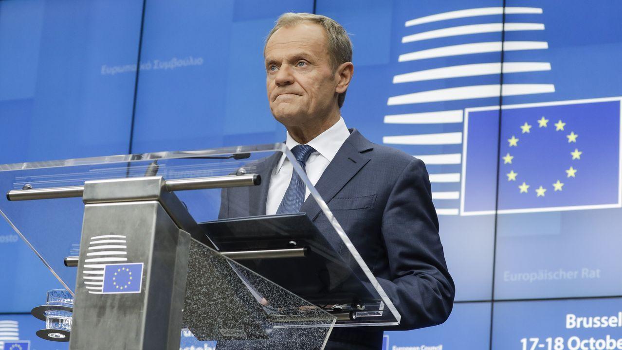 El ex presidente del Consejo Europeo, Donald Tusk