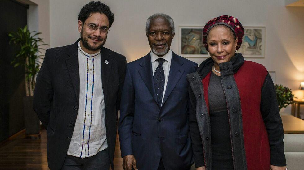 Kofi Annan en Colombia