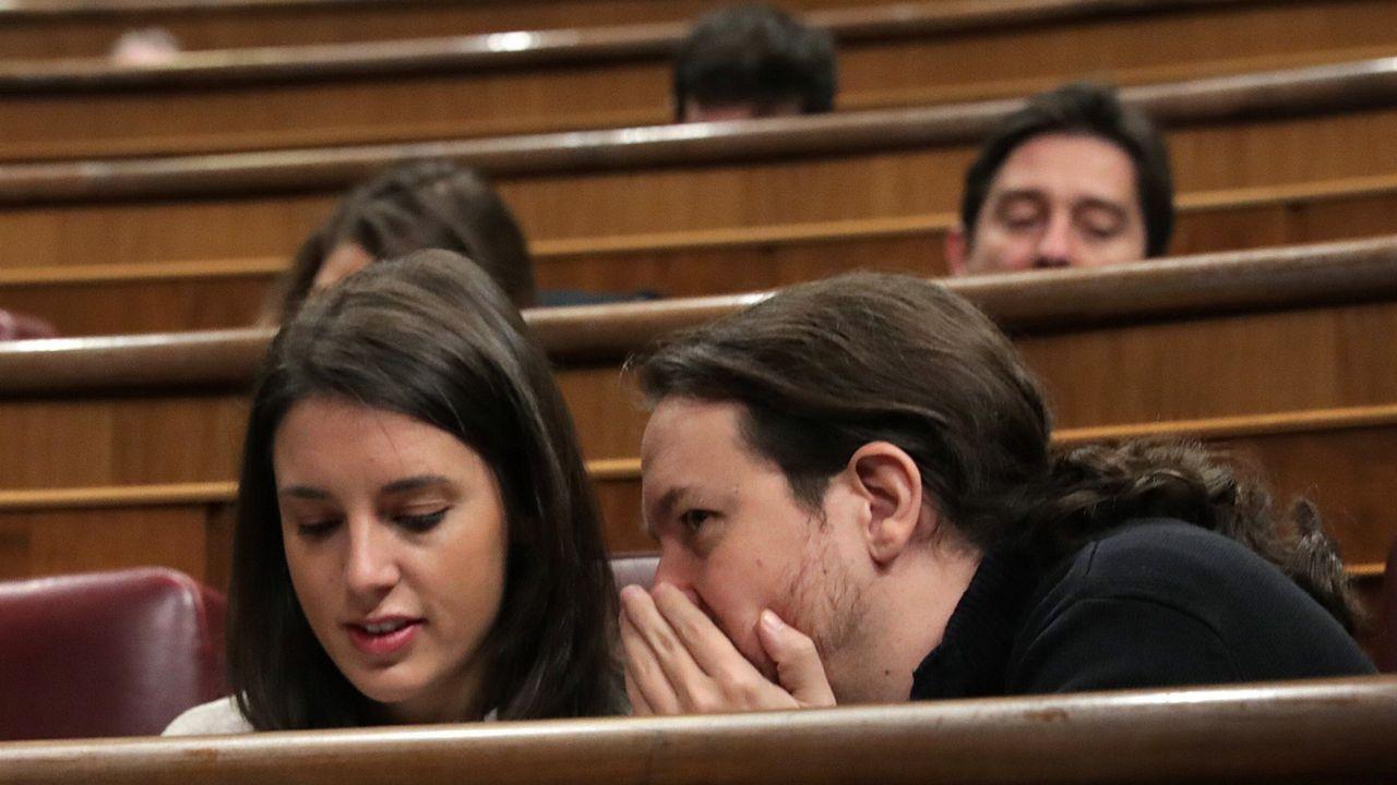 Felipe VI, sobre Cataluña: «El camino no puede llevar de nuevo al enfrentamiento y la exclusión».El secretario general de Podemos en Asturias, Daniel Ripa, durante su intervención en la tercera jornada del debate de orientación política general que se celebra en la Junta General del Principado.