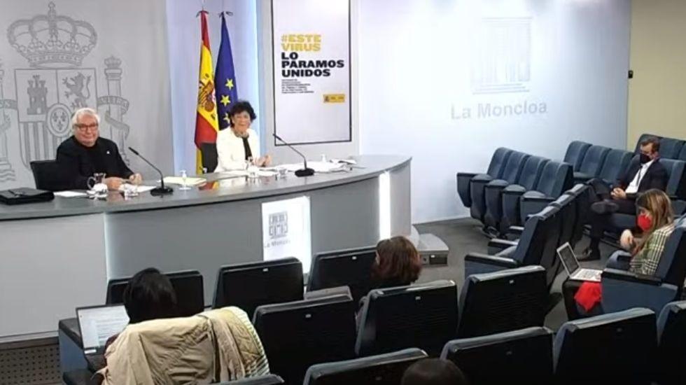 Los dos ministros educativos, Manuel Castells (Universidades) e Isabel Celaá (Educación) presentaron sus planes para los fondos europeos