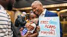 Eric Adams, candidato a la Alcaldía de Nueva York.