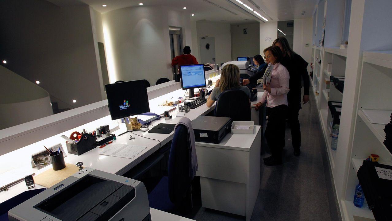 Imagen de archivo del Registro Civil de A Coruña