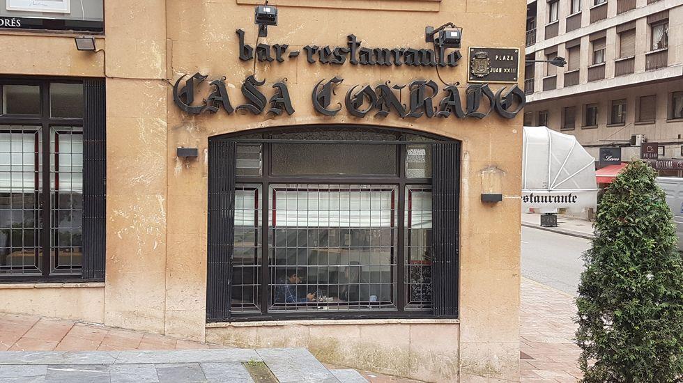 Casa Conrado en Oviedo.Casa Conrado en Oviedo