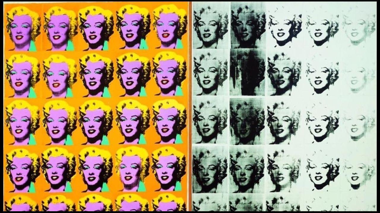 Fragmento de «Marilyn Dyptich», de 1962