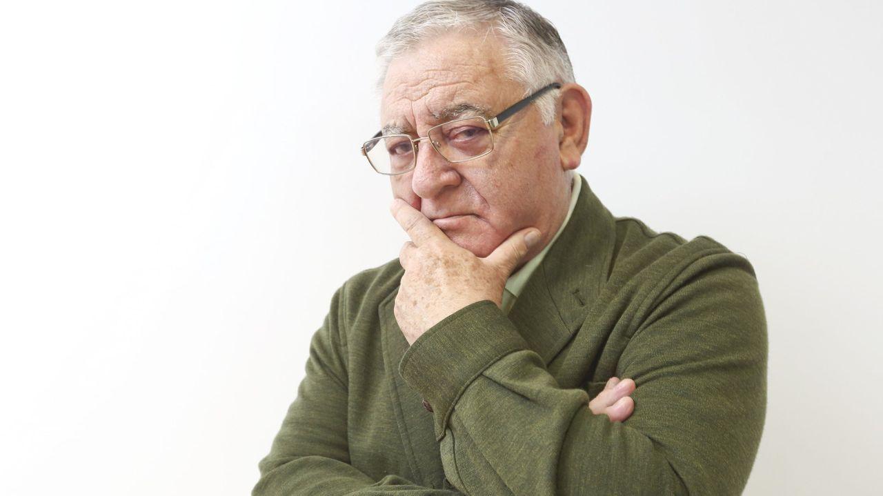 José Manuel Caballero Bonald en una imagen del 2007, durante la presentación de su antología poética «Summa Vitae»