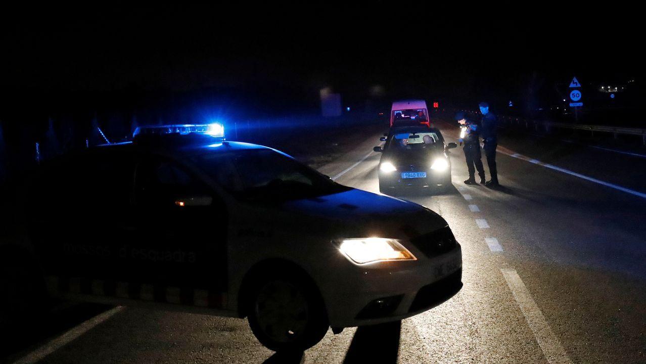 Control policial por el confinamiento
