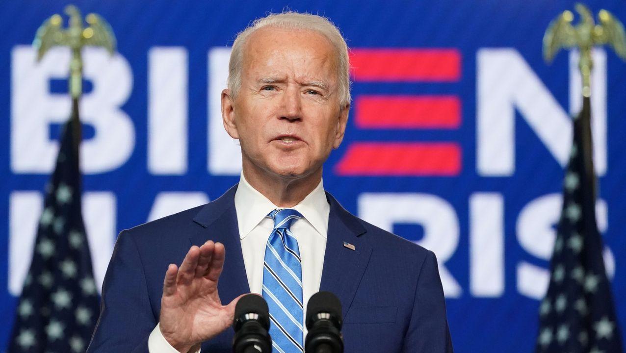 Joe Biden, 46º presidente de los Estados Unidos.El presidente electo de Estados Unidos, Joe Biden