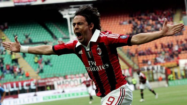 Inzaghi, en su etapa como futbolista
