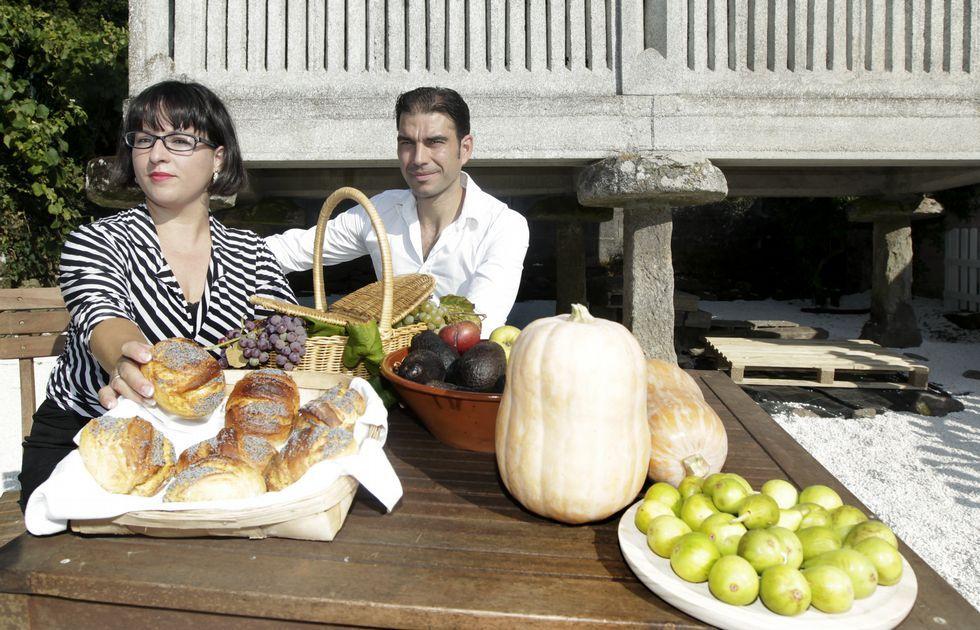 Mónica y su pareja, Juan, están demostrando en Fofán que hay otra forma de vivir, disfrutar y hacer rentable la vida en la aldea.