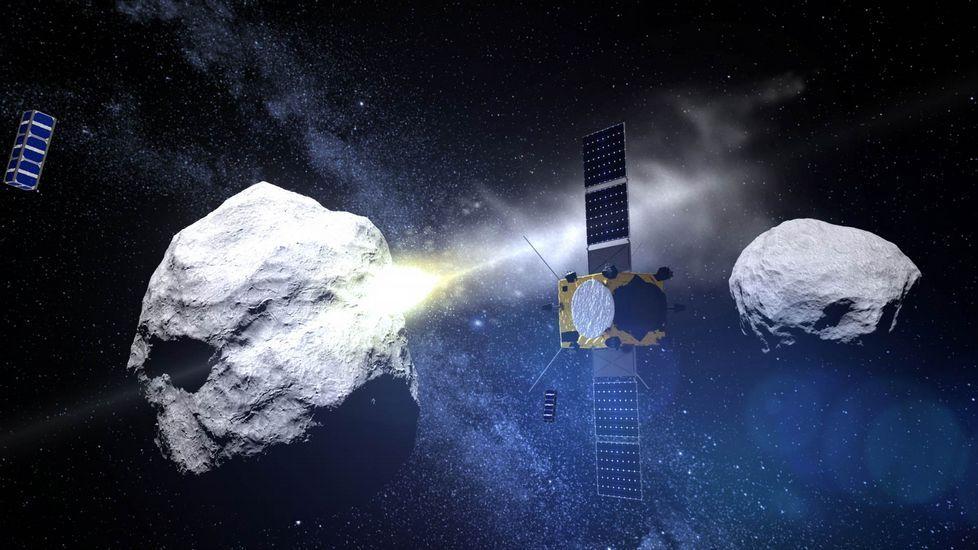 La última imagen que captó Rosetta del cometa Chury.