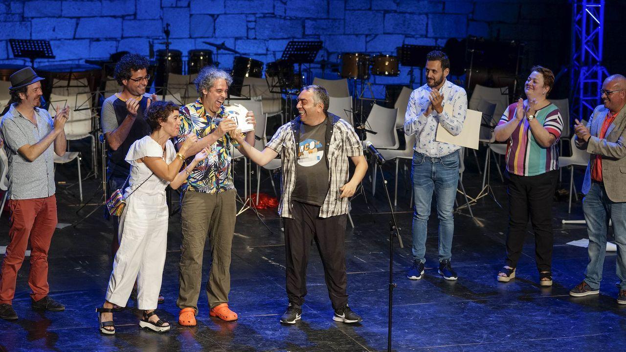 Entrega do Premio Abrente nunha edición anterior da MIT