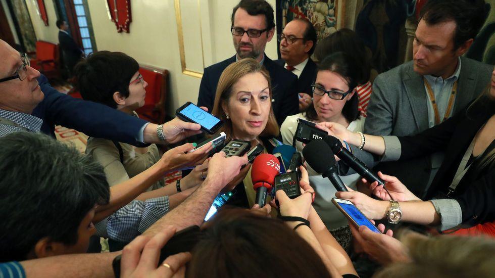 Irene Montero, mano derecha de Pablo Iglesias y portavoz de Podemos. Sustituyó en ese cargo a Íñigo Errejón, antiguo número dos del partido