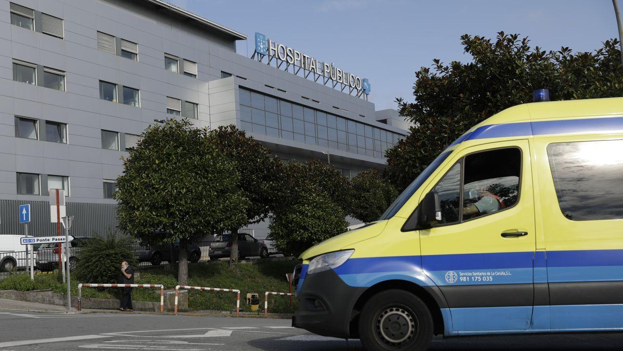 Pruebas de PCR en el área sanitaria de A Coruña