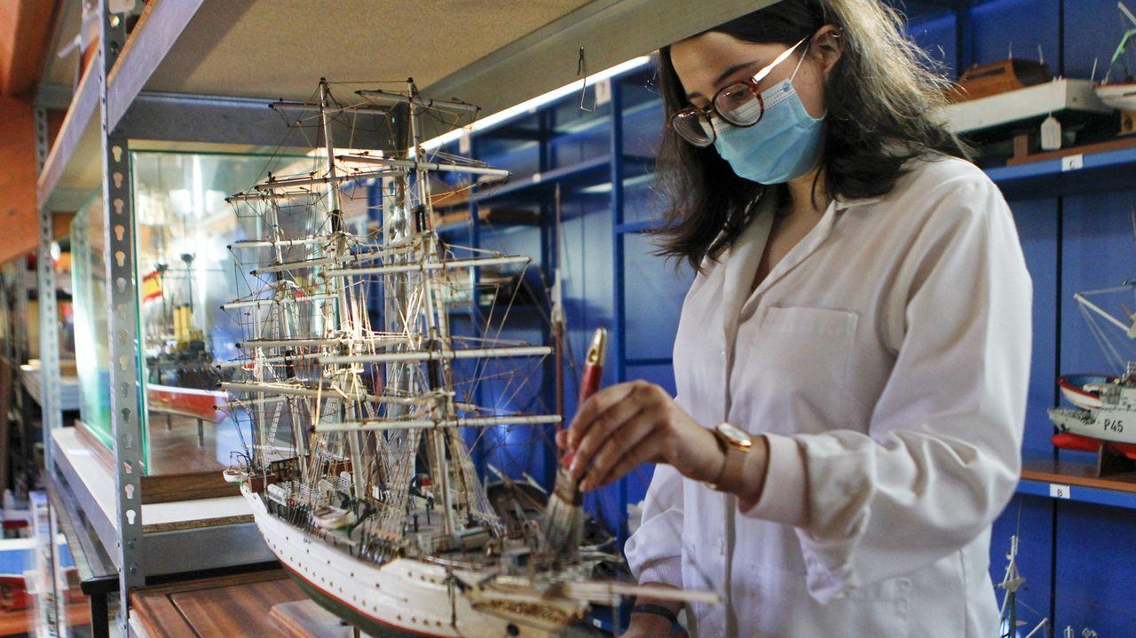 Cristina Vidal, la nueva museóloga del museo de Exponav, estudió el máster de Museos, Archivos y Bibliotecas en el campus