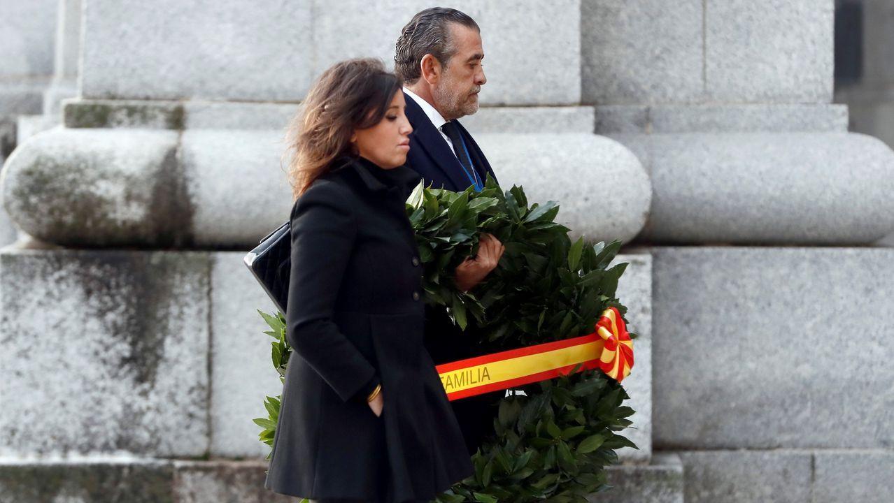 El nieto de Franco, Jaime Martínez-Bordiú, y su pareja Marta Fernández