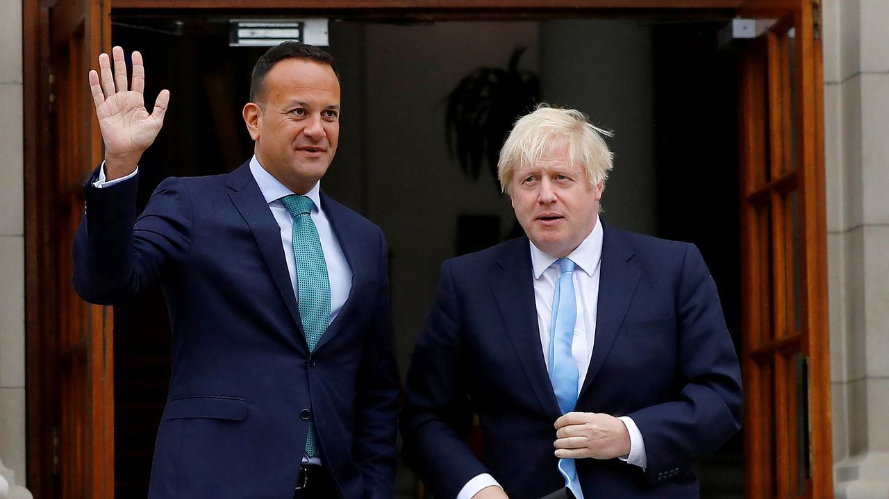 La última reunión entre Leo Varadkar y Boris Johnson tuvo lugar en Dublín a principios de septiembre