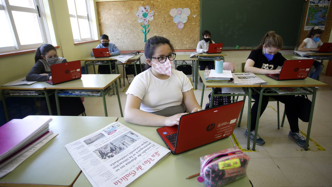 La Voz de la Escuelaen el CEIP As Nogais