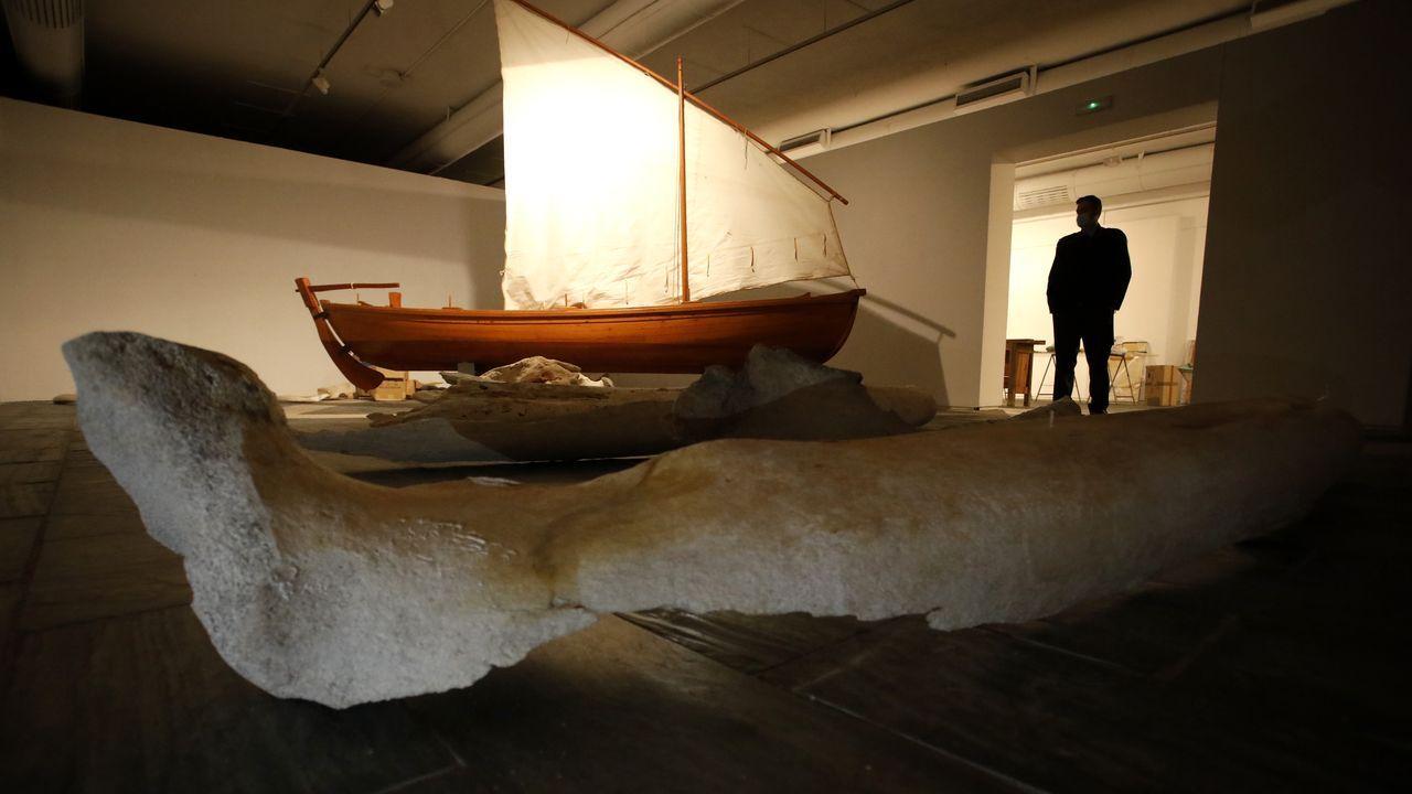 O Museo do Mar de San Cibrao pon rumbo a Lugo coa mostra «Amar a mar», que abrirá as portas o xoves e mostrará os segredos da carpintería de ribeira, embarcacións, ósos de balea... pezas algunhas delas inéditas