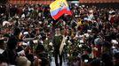 Protesta pacífica de indígenas este jueves en Quito