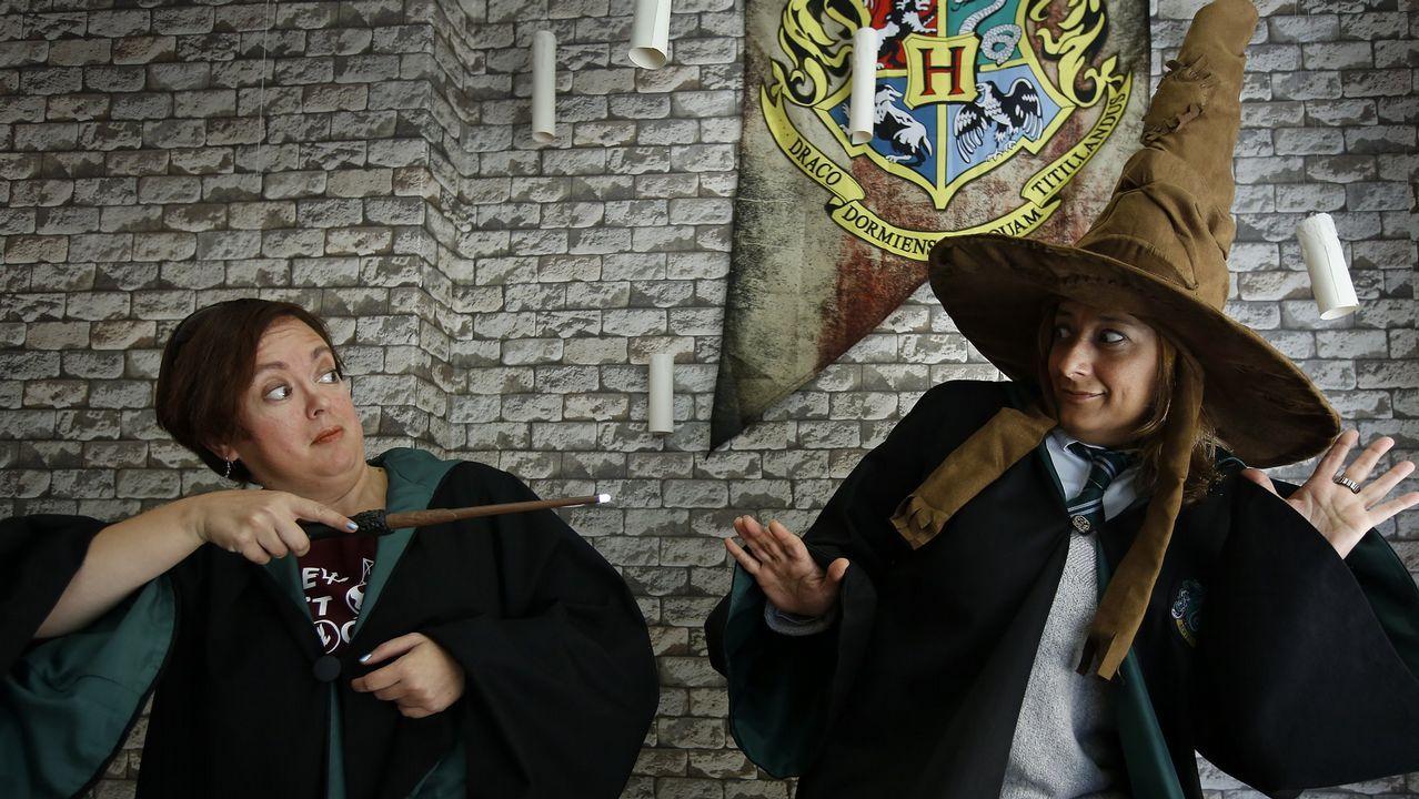 Harry Potter se «paseó» por Ángel Senra.Festival de Habaneras