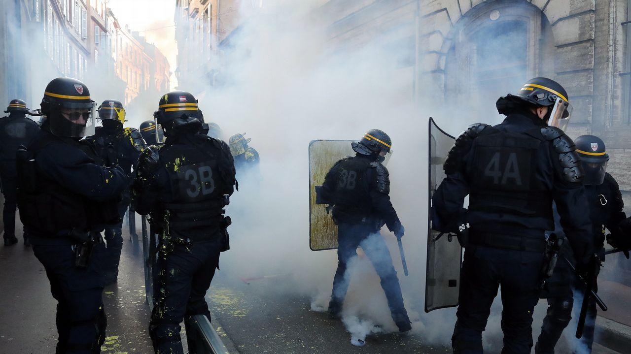 Protestas en Toulouse