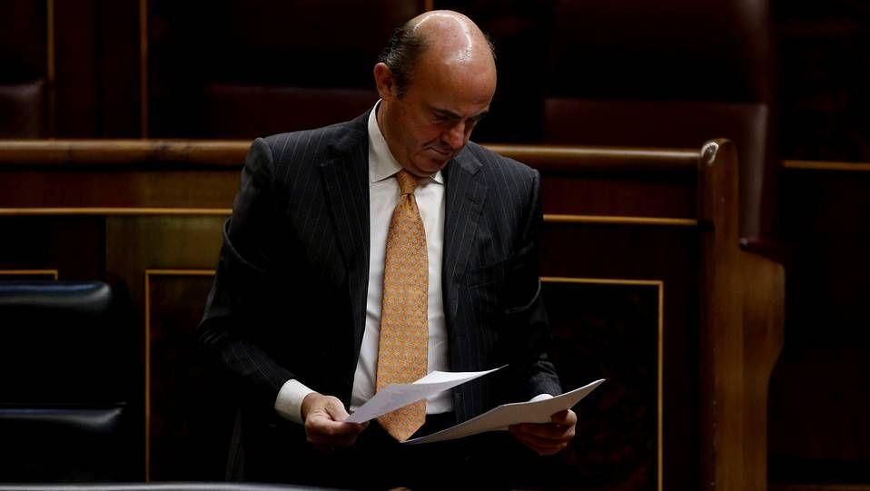 El ministro de Economía, Luis de Guindos, ya suena para la presidencia del Eurogrupo