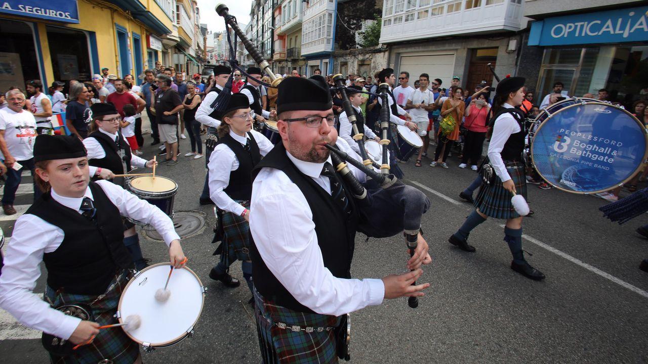 El desfile de bandas de las naciones celtas, en imágenes.Yago de la Puente Agulló, el joven desaparecido en Ortigueira