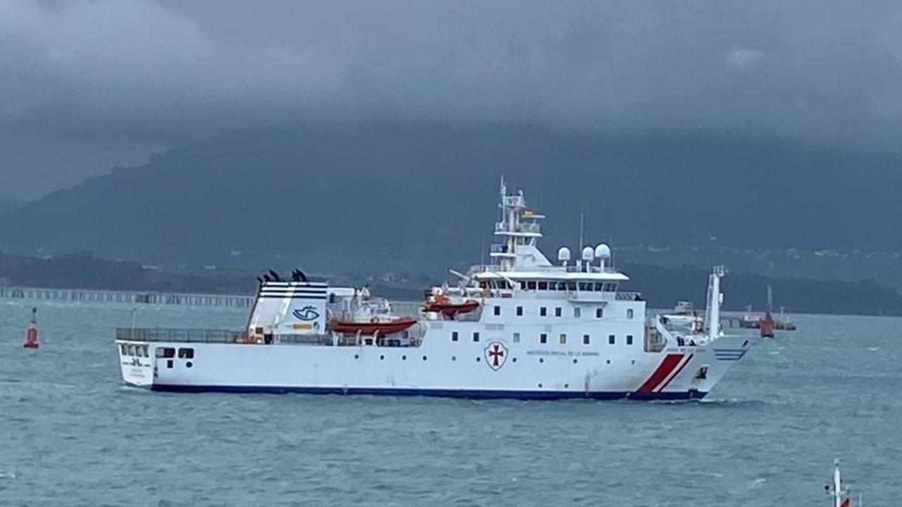 El Congreso debate y vota la nueva prórroga del estado de alarma.El buque hospital «Juan de la Cosa»