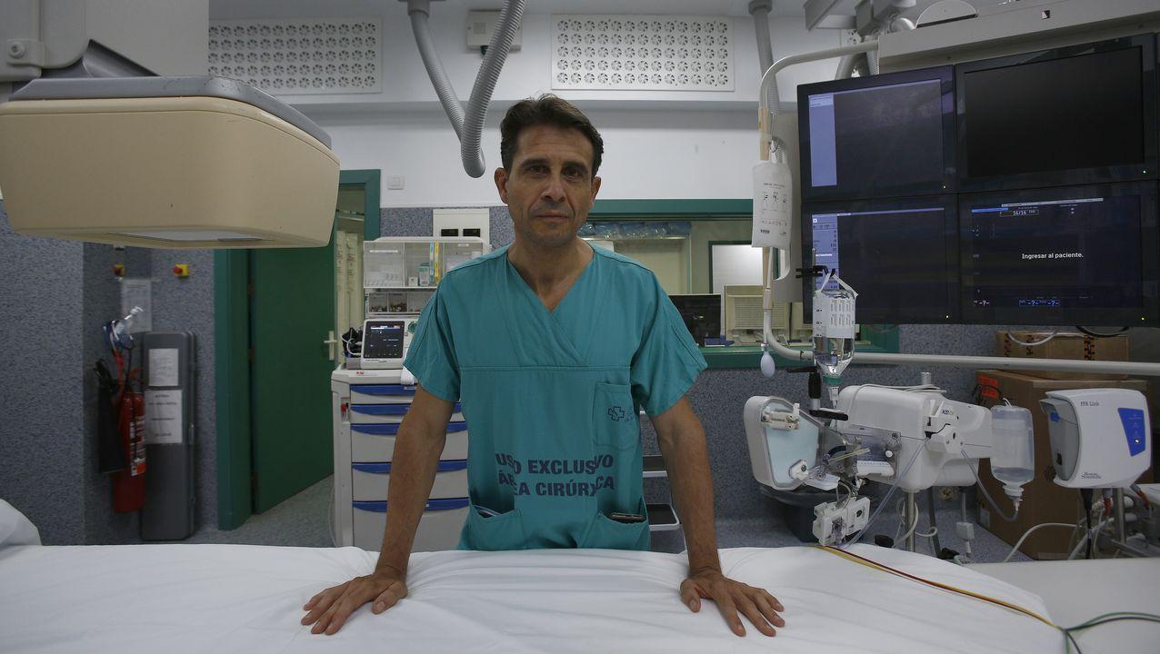 Guillermo Aldama, cardiólogo del Chuac (A Coruña)