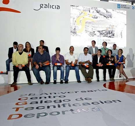 Catorce de los 20 olímpicos participaron ayer en el 25 aniversario del Centro de Tecnificación.
