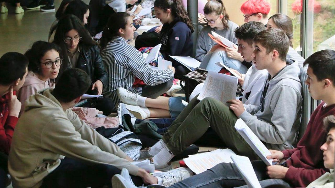 La selectividad es el primer momento en  que todos los alumnos de la escuela pública y de la privada comparten una misma aula y actividad