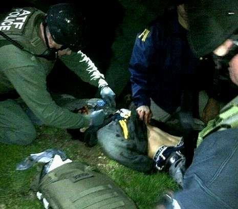 Frustrado un ataque de Al Qaida contra el tren Toronto-Nueva York.La policía halló a Dzhojar herido, tras cercarlo durante casi dos horas.