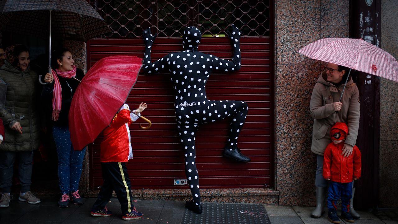 Las mejores imágenes del martes de carnaval en A Coruña