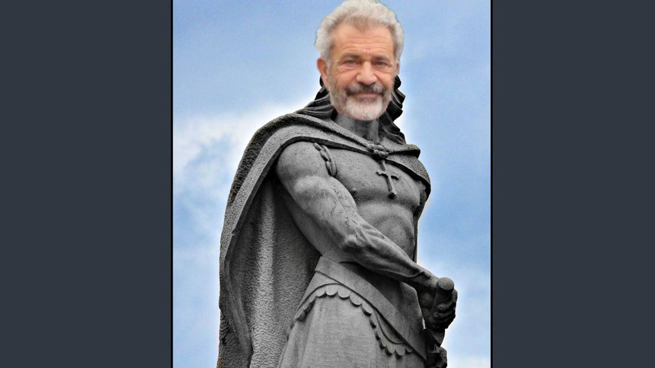 Mel Gibson como Don Pelayo