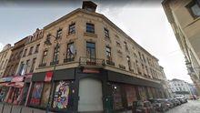 El local rehabilitado en un edificio de la calle Laeken cuenta con varias salas