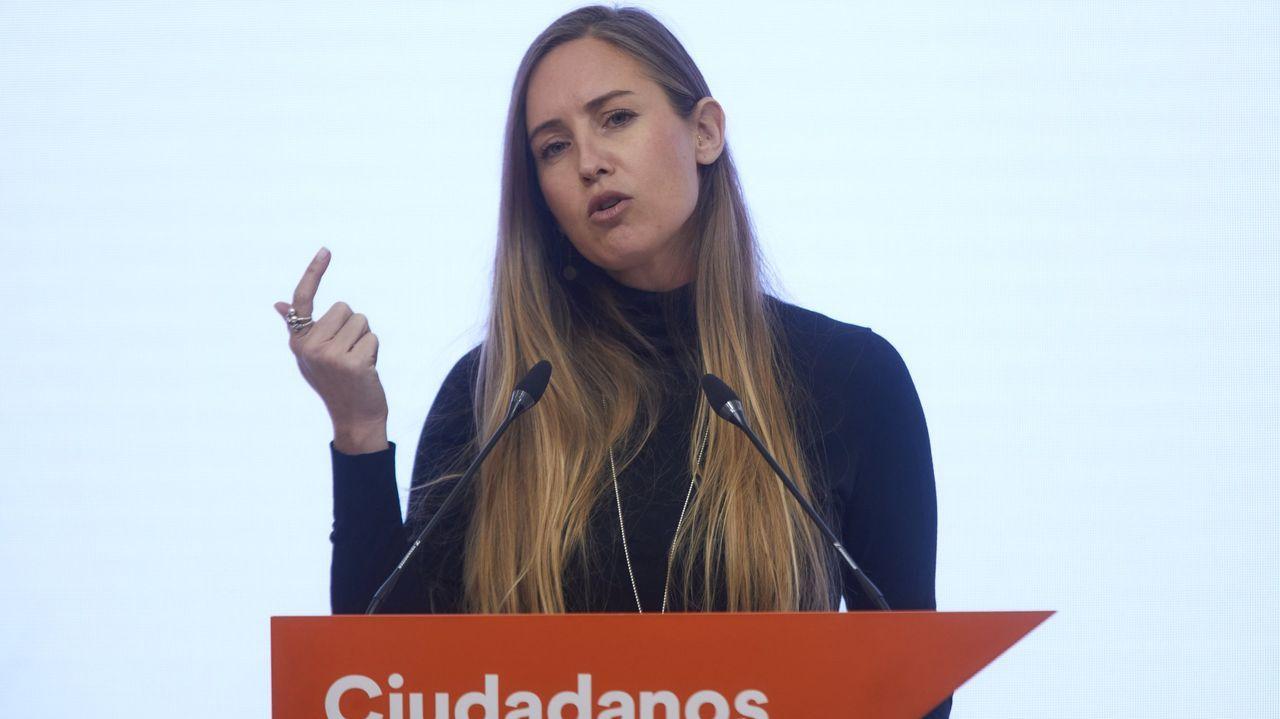 Melisa Rodríguez, portavoz adjunta de Ciudadanos