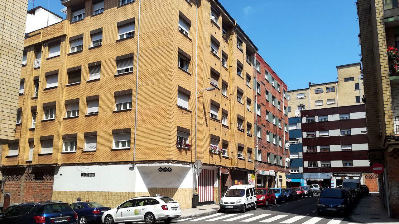 La vivienda de la calle Felicidad donde se produjo el suceso.