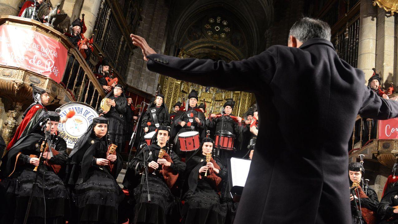 Imagen de archivo de una de actuaciones de la Banda de Gaitas