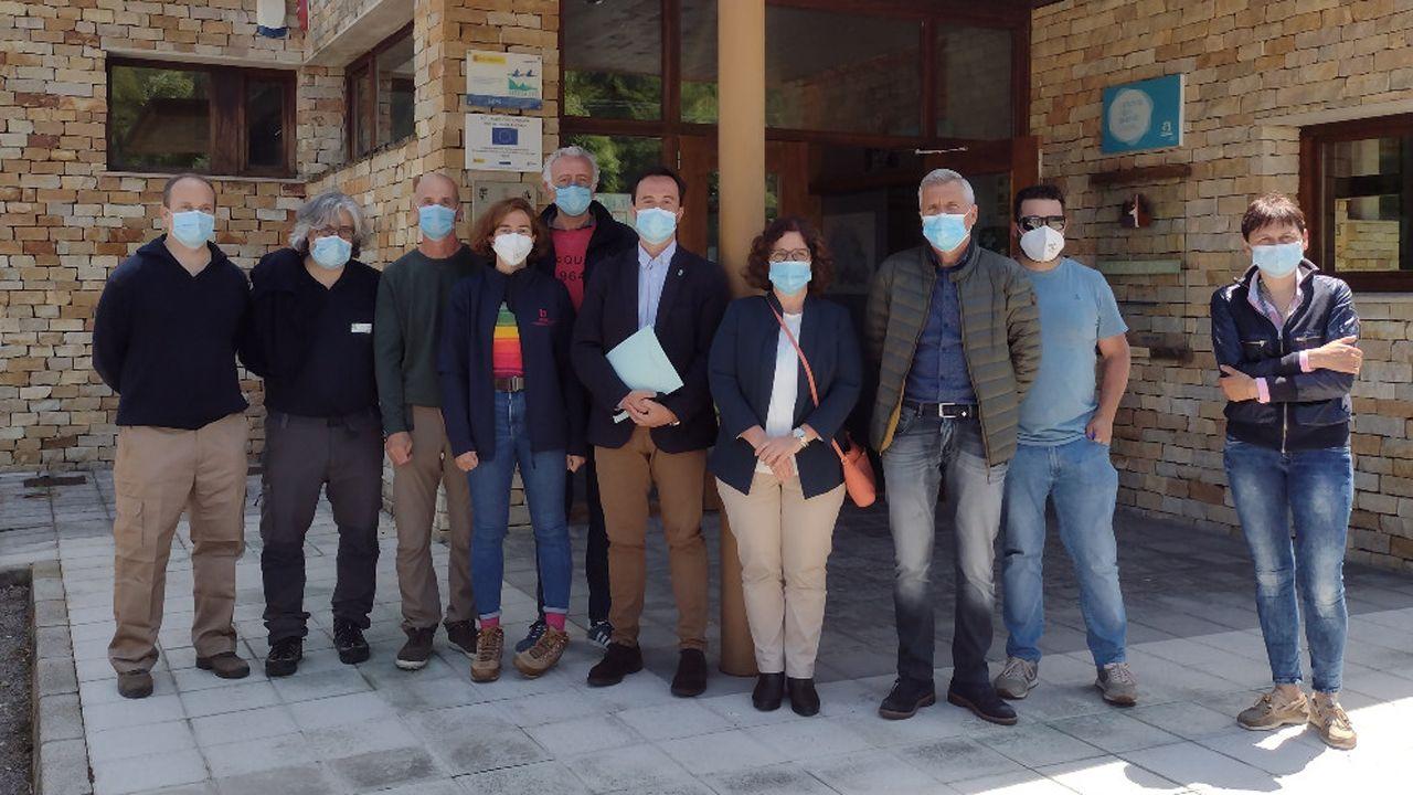 Laboratorio de la Universidad de Oviedo. El grupo de trabajo, formado por científicos y técnicos especializados