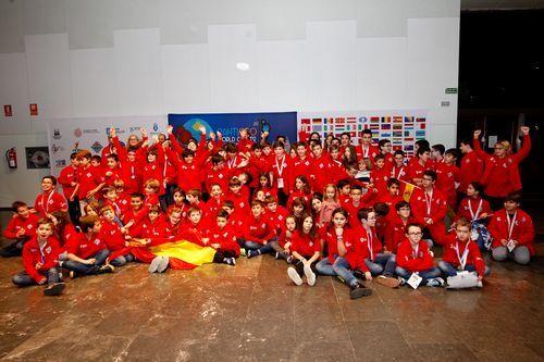 Marcos Heinrich cabalga «The big».Exporpymes, evento de internacionalización organizado por la Cámara de A Coruña