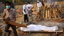 India se quedó sin espacio en los crematorios