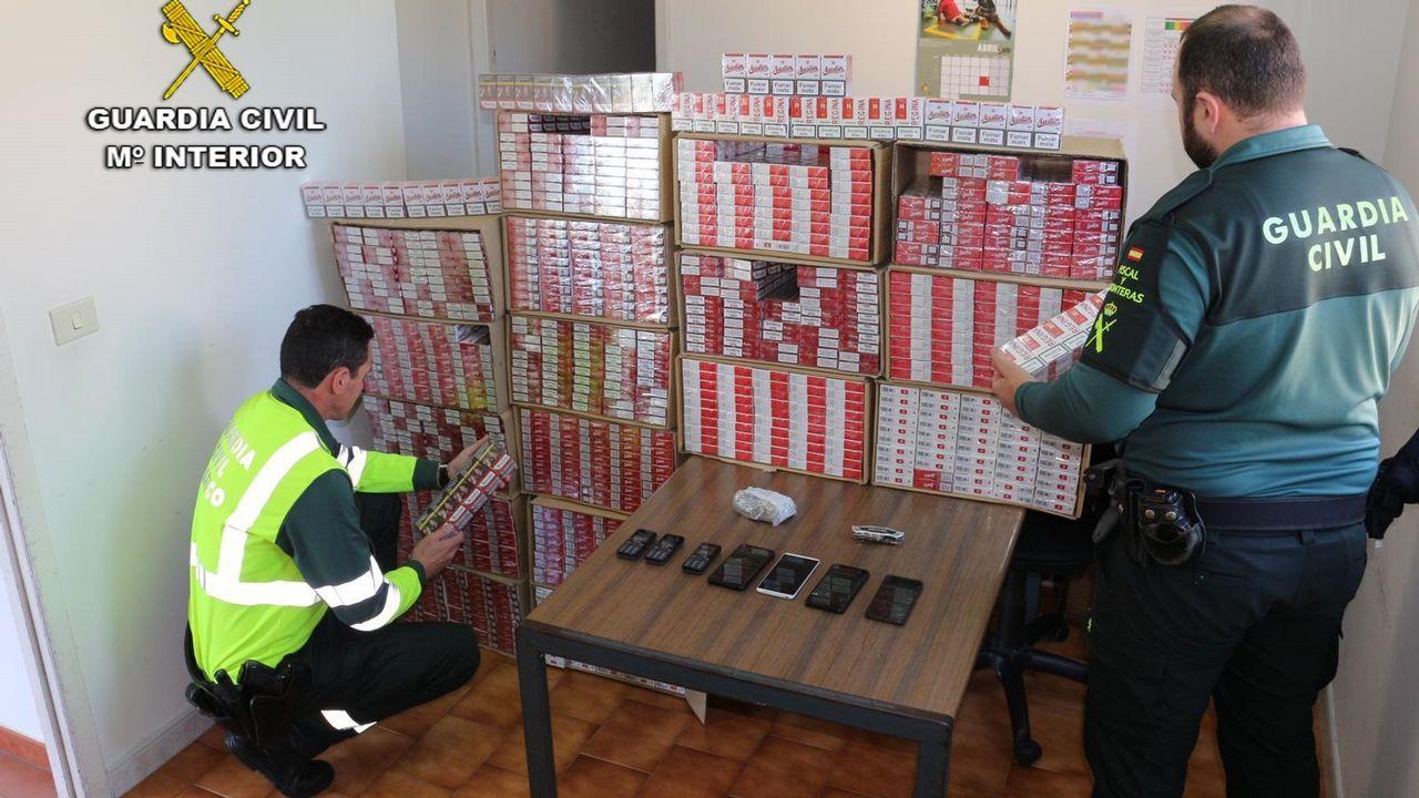 Simulacro de derrumbe en un pabellón de Vigo