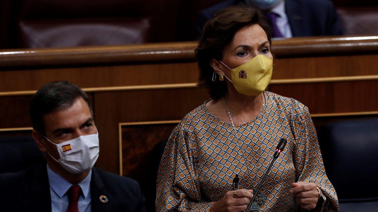 El presidente de la Generalitat, Quim Torra, este miécoles, en el Parlamento de Cataluña