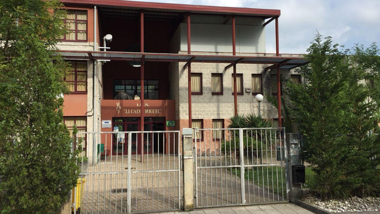 Juzgados Oviedo.El IES de Sotrondio