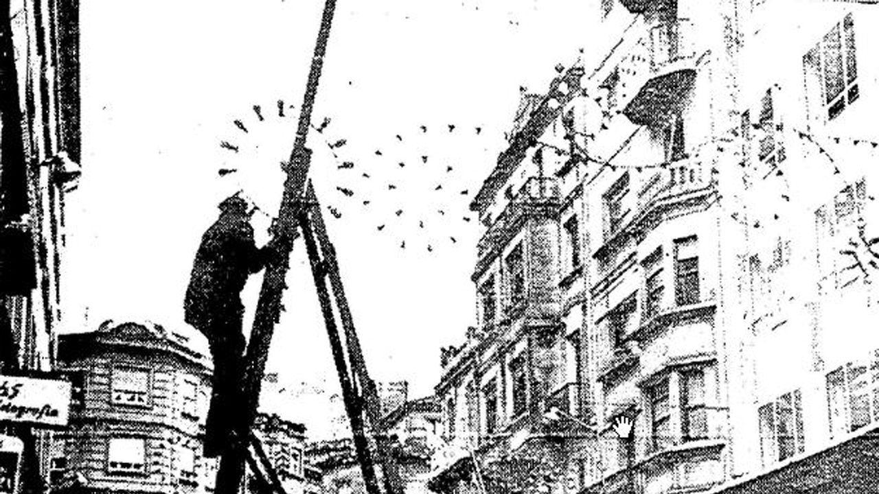 El viguésque participó en una barricada que derivó en los últimos fusilamientos del franquismo.Personal del ambulatorio de Betanzos atendiendo las solicitudes de citas