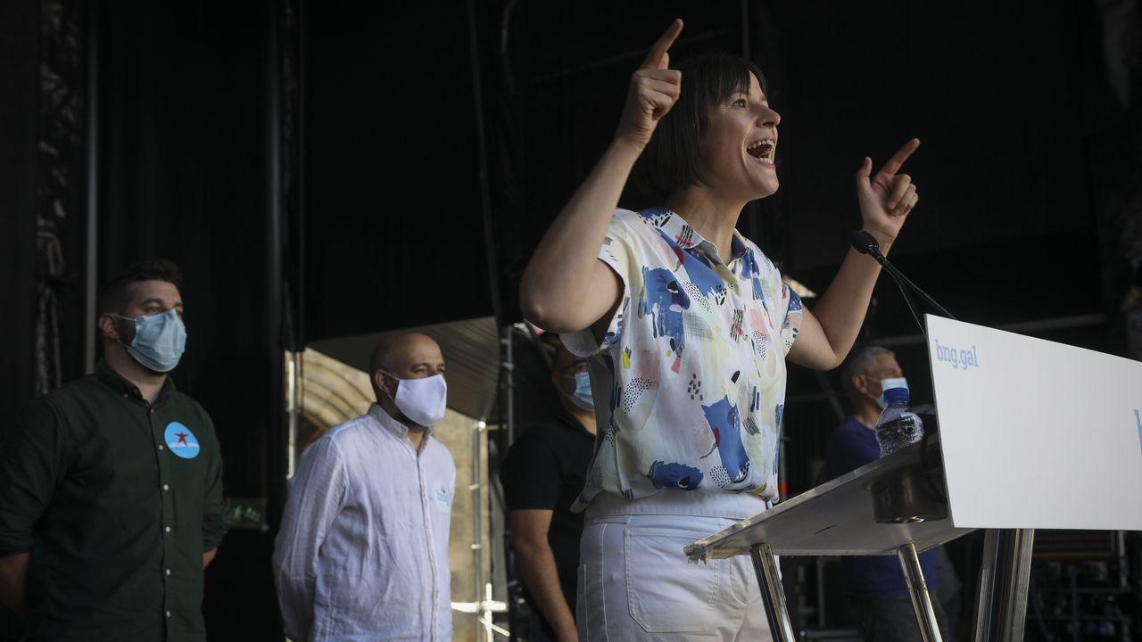 La líder del BNG, Ana Pontón, en una imagen de archivo