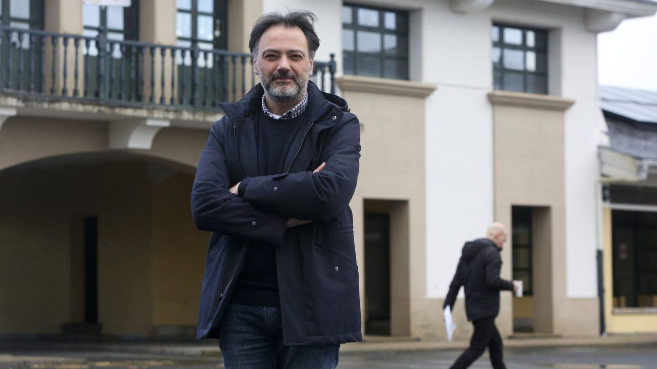 José Manuel Campello es el director del Conservatorio Profesional de Música de As Pontes