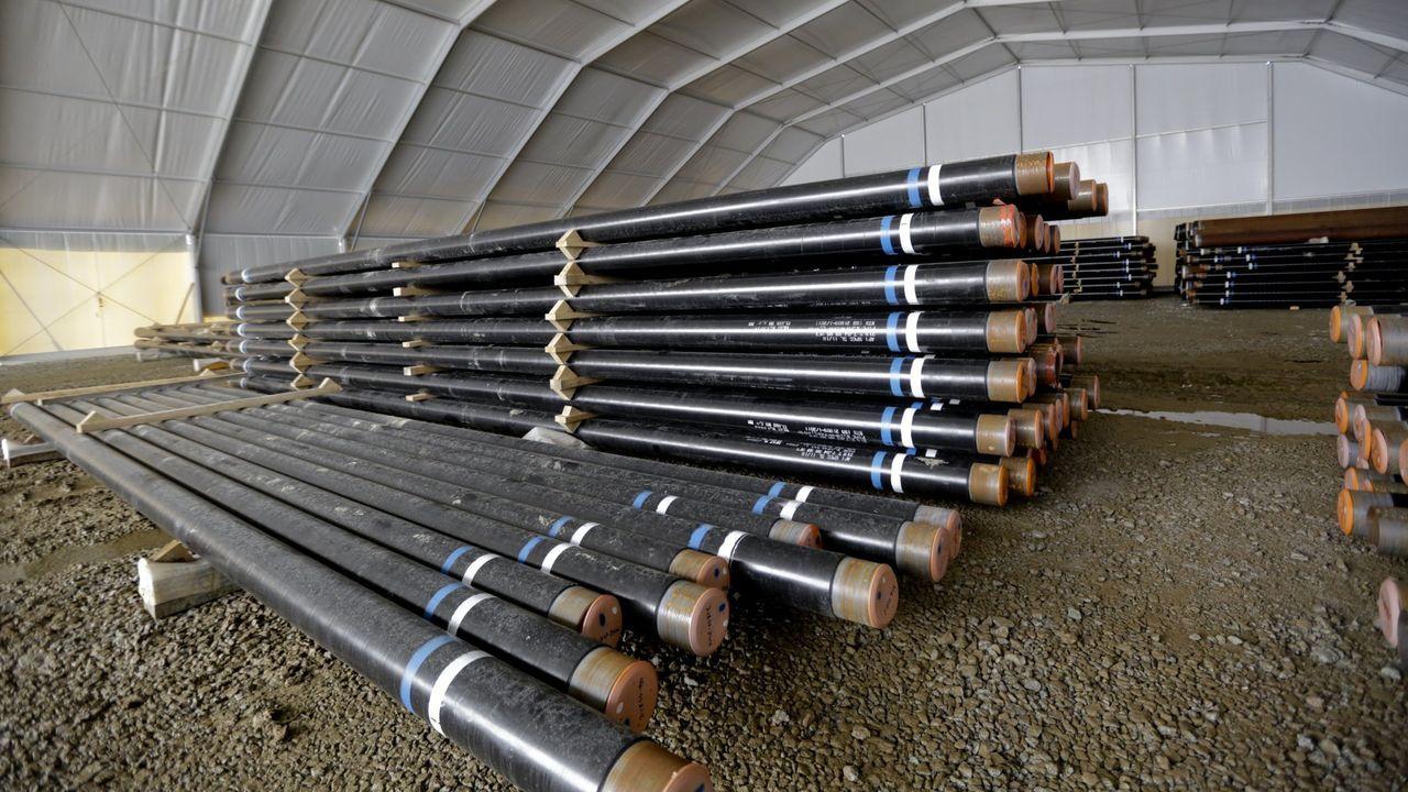 La compañía tiene en el puerto exterior más de 50 kilómetros de tuberías para el poliducto