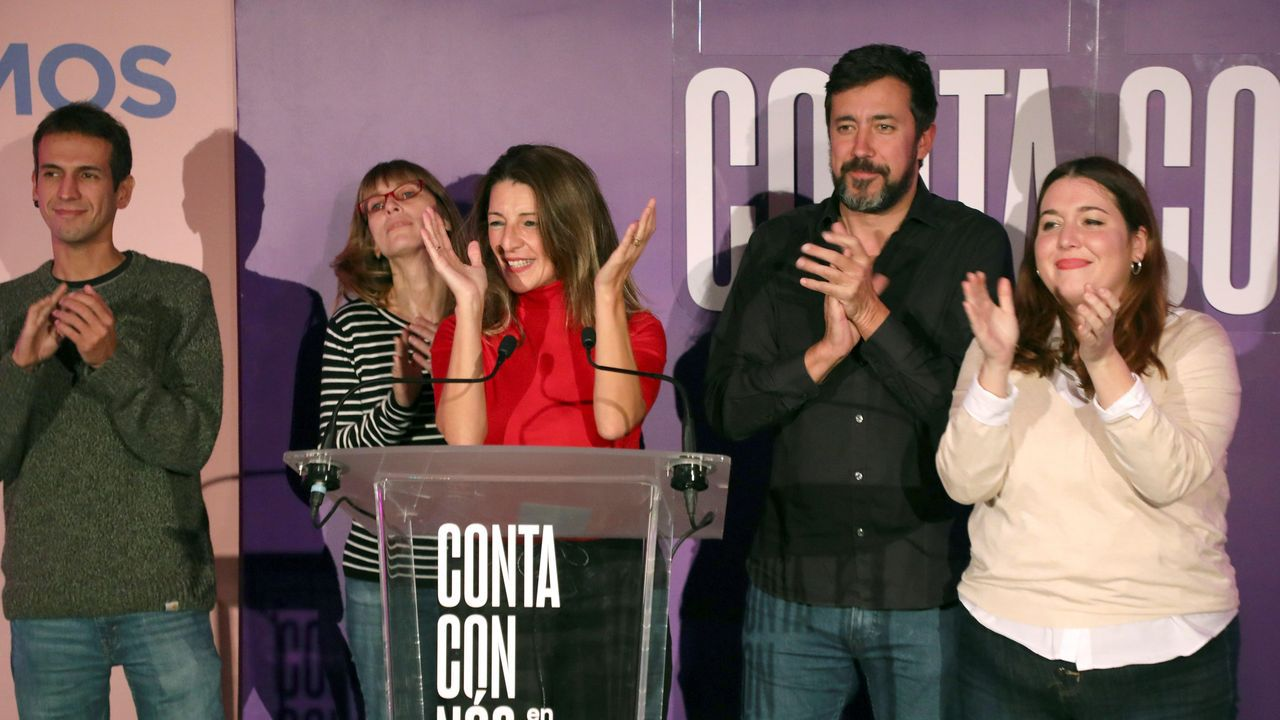 El temporal en Galicia.Ana Pontón, portavoz nacional del BNG