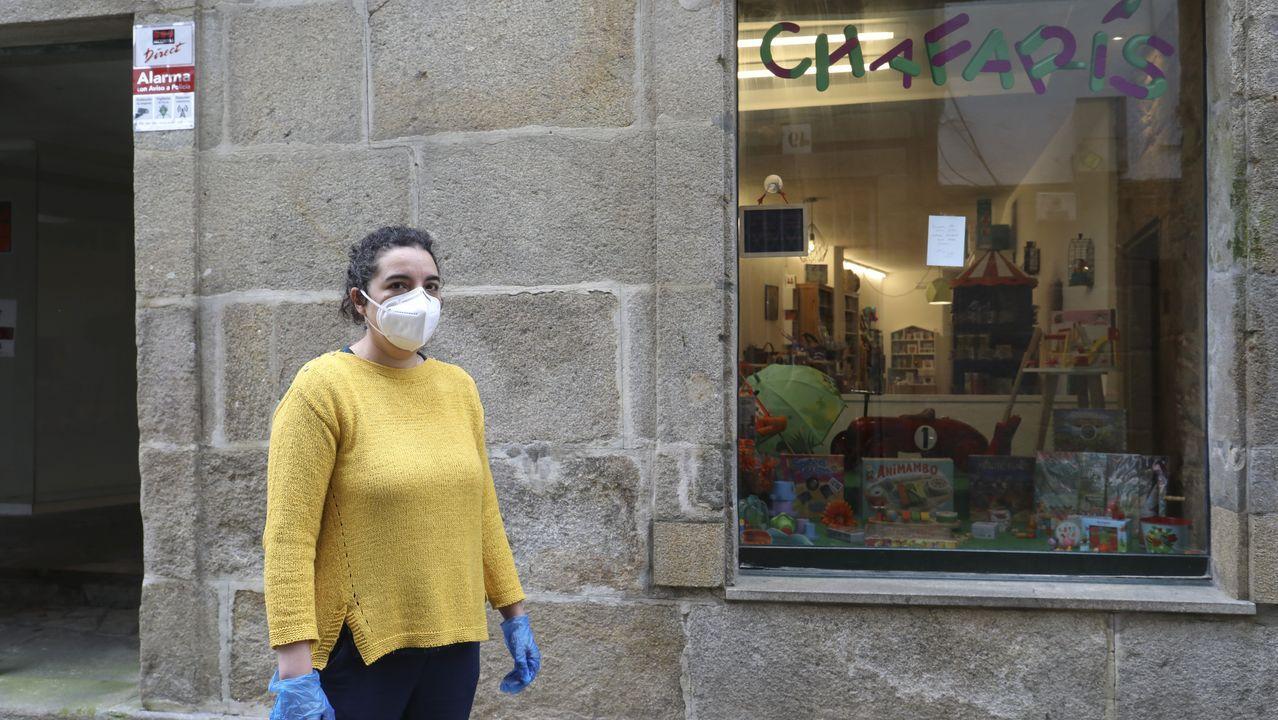 Cristina Neira, de la juguetería Chafarís, mantuvo la actividad gracias a la venta «online»: «Los juegos de mesa fueron un bum durante la cuarentena»